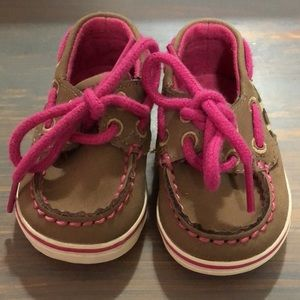 Sperrys baby shoes